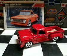 1967 1/64 Custom DODGE RAM stepside flames pickup Truck Cummins Greenlight GL