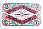 ANCIEN BILLET ALLEMAGNE - NOTGELD 1920 / 2 MARK / ETAT SUPERBE !!