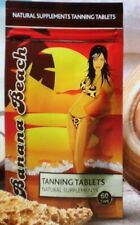 BANANA BEACH TANNING TABLETS 1 x 60 CAPS(Safe Alternative to Tanning Injections)
