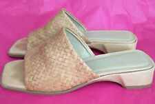 Jones Bootmaker UK4 EU37 light brown leather upper sandals