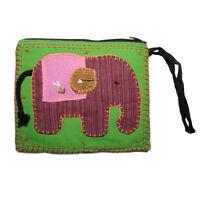 Elephant Clutch Bag - Green