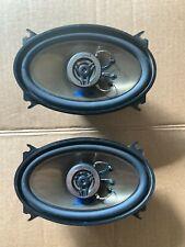 Bmw E28 E30 Alpine Sps-460A Car Kicker Speakers 4 X 6 2-way Coaxial