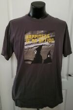 1999 NightLife World Tour Pet Shop Boys Happiness Is An Option Gray T Shirt XL