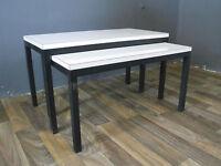 WMG Satztische Nesting tables Beistelltisch Design Entwurf Vintage 60er 60s 70er