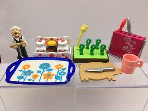 2007 Rement Kawaii Kitchen, #3 and 10, last ones, complete, 1/6 scale, Barbie