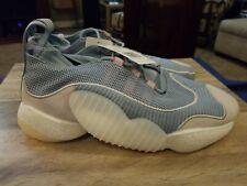 Adidas crazy byw ii 2 ash grey light blue amber white bd7999 Size 13