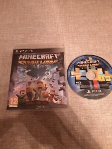 MINECRAFT STORY MODE SEASON PASS DISC PS3 PLAYSTATION 3 PREOWNED