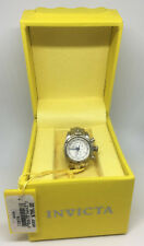 Invicta 13808 Silver-tone White Dial Mini Watch Collection Venom Desk Clock