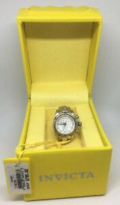 Invicta 13808 Silver-tone White Dial Mini Watch Collection Venom For Desk