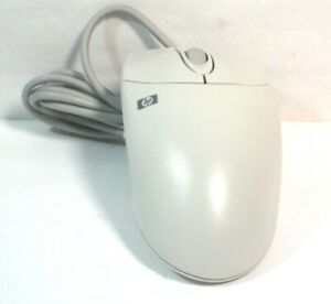 Vintage Geniune HP Hewlett Packard 2 Button PS/2 Mouse Model M-S48a New