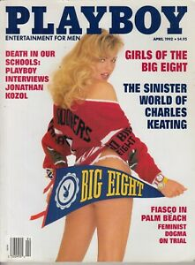 Playboy magazine April 1992 Cady Cantrell girls of the big 8   - Nice