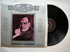 Enrico Caruso - Great Voices Of The Century, Volume Three, Ember GVC-6 Ex Con