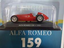 Alfa Romeo 159 Juan Manuel Fangio 1951 silverston 1/43 Luppa altaya