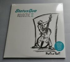 Status Quo - Aquostic II 2016 Fourth Chord Records DBL LP *New & Sealed*