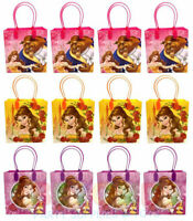 Beauty and the Beast Party Favor Gift Bags Treat Goody Candy Loot Birthday Bags