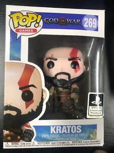 FUNKO POP GAMES - GOD OF WAR KRATOS 269 (VAULTED)