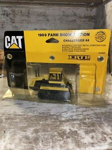 1/64th Scale Caterpillar 65 Challenger 1989 Farm Show In Edition Ertl