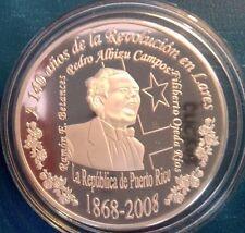 1 ALBIZU PLATA Série2008 CERRO MARAVILLA 1978 GRITO LARES 1968 Puerto Rico 1/200
