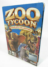 Zoo Tycoon: Complete Collection (PC, 2003) Big Box New Sealed