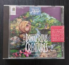 Microsoft Dangerous Creatures (PC) Vintage 1994 Software