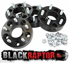 Black Raptor 40mm Aluminium Land Rover Discovery 3 & 4 (2005 - on) Wheel Spacers