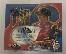 2001 Press Pass VIP Factory Sealed NASCAR Racing Hobby Edition Box