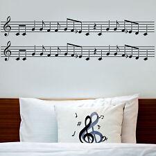 Musical Notes Border Stencil - Reusable Stencil for Walls
