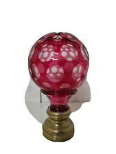 Boule d'escalier en cristal