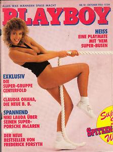 HEISS-EINE PLAYMATE MIT EINEM SUPER BUSEN-NACKT IM PLAYBOY-SEHR ALT-OKTOBER 1984