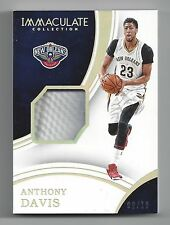 2015-16 Panini Immaculate Anthony Davis Sneaker Swatches#2/10 Shoe Pelicans
