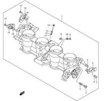Suzuki 2005 Gsx-R600k5 Ca Gsx-R750k5 Screw Seat 09139-06138 New Oem