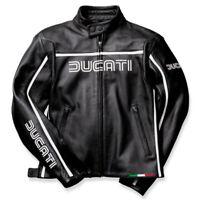DUCATI Dainese 80´s Damen Lederjacke Leather Jacket LADY schwarz NEU !!