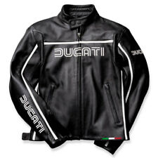 DUCATI DAINESE 80´s DONNA GIACCA DI PELLE LEATHER JACKET LADY NERO NUOVO!!!