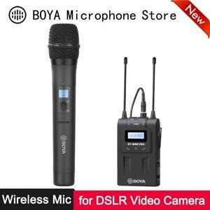 BOYA BY-WM8 Pro K3 Handheld Wireless Microphone Kit System Dual-Channel UHF