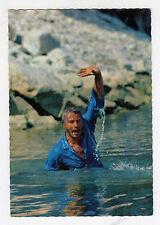 "Lex Barker-Star tarjeta postal-en ""Chinganchguk"" 1. parte/Karl May/Rialto"