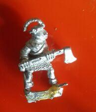 F2 axe male Fighter citadel GW games workshop empire fighters Jan Oakheart
