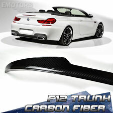 CARBON BMW F12 CONVERTIBLE 6-SERIES M6 V TRUNK BOOT SPOILER M6