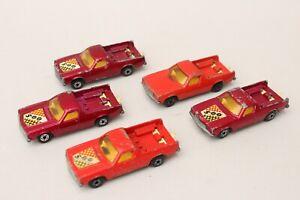 Matchbox Lesney Superfast MB 60 Holden Pick Up x5 Job Lot