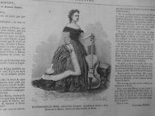 1866 A 1887 VIOLONCELLE  SZUK  HOLLMAN  4 JOURNAUX  ANCIENS COMPLETS