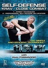 SELF DEFENSE - KRAV - CLOSE COMBAT - PAR ALAIN FORMAGGIO - DVD  !!!