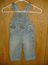 The Children'S Place Blue Jean Denim Bib Carpenter Overalls Size 12 Months Fc400