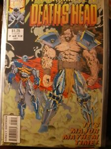 The Incomplete Death's Head #7 of 12 Rare Jul 1992 Marvel Uk with Death's Head 2