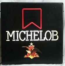 Vintage Lighted Michelob Beer Bar Sign, Man Cave Item