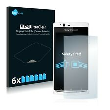 6x Sony Ericsson Xperia Arc LT15i Displayschutzfolie Klar Transparent