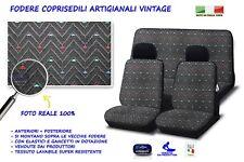 Coprisedili Panda Fiat 86>2003 750 1000 4x4 fodere auto copri sedile cotone set