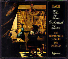 Bach Orchestra suite 1 2 3 4 roy Goodman Hyperion 2cd the Brandenburg consort