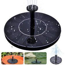Fuente Solar Ecologica con Bomba de Agua Decoración Jardín Estanque NOVEDAD