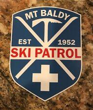 Mount Baldy Ski Sticker - Ski Patrol Skiing Snowboarding Mountain Sports Burton
