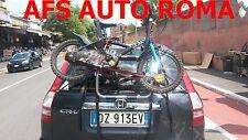 PORTABICI POSTERIORE X 3 BICI PER HONDA CRV CR-V ANNO 2012 OMOLOGATO TUV
