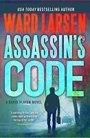 BOOK - Ward Larsen Assassins Code By David Slaton - Hardback
